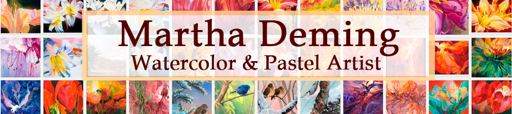 Martha Deming – Watercolor/Pastel Artist logo